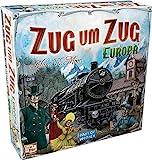 Asmodee Zug um Zug Europa, Grundspiel, Familienspiel, Deutsch