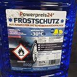 powerpreis24® 5X 5 Liter Scheibenfrostschutz Frostschutzmittel 25L -30 Grad gebrauchsfertig
