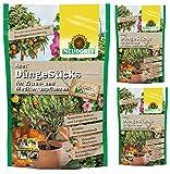 3 x 40 (120 Stk) Neudorff Azet DüngeSticks für Zitruspflanzen NPK-Dünger 8-2-5
