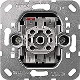 GIRA (0106 00) Einsatz Wippschalter 10 AX 250 V~ Universal Ein/Aus-Wechselschalter
