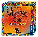 Kosmos 694203 - Ubongo Solo, 1 Spieler - 45 Legeteile - 546 Level, Knobelspaß und Legespiel, Brettspiel ab 8 Jahre
