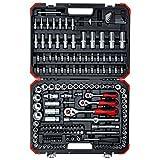 GEDORE red Steckschlüsselsatz, 172-teilig, Mit Umschaltknarre, Ratschen, Steckschlüssel und Bitsatz