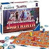 Ravensburger Kinderspiele 20416 - Junior Labyrinth , das weltbekannte Brettspiel mit den beliebten Figuren aus Disney's Eiskönigin 2.