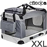 Deuba CADOCA Hundetransportbox faltbar Katzentransportbox Tier Transport Tierbox Größe XXL