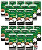 24er Pack - AROY-D Kokosmilch [24x 500ml] Kokosnussmilch Cocosmilch Coconut Milk + ein kleines Glückspüppchen - Holzpüppchen