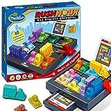 ThinkFun Rush Hour, Logik- und Strategiespiel, für Kinder und Erwachsene, Brettspiel ab 1 Spieler, ab 8 Jahren