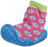 Playshoes Aqua-Socke Badeschuhe Blume 174805, Mädchen Aqua Schuhe, Pink (original 900), 20/21 EU