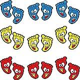24 Paare Cartoon Kinder Bodenaufkleber, Footprint Aufkleber, Fußabdrücke Bodenaufkleber, für Schule, Zuhause, Kindergartendekoration
