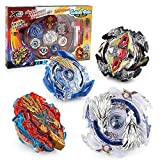 Bey Battle Blade Burst 4D Set mit Launcher und Arena Battling Tops Storm Gyro Metall Kampf Battle Fusion Classic Toys für Kinder