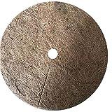 ZJONE 10 Pcs Rund Kokosmatten Für Pflanzen 20/30/40cm Kokos Mulchscheibe 100% Natürlich Winterschutz Abdeckscheibe Für Topfpflanzen (20cm)