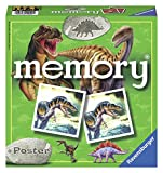 Ravensburger 22099 - Dino Memory, Spieleklassiker für alle Dinosaurier Fans ab 4 Jahren, Merkspiel für 2-8 Spieler