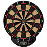 Best Sporting elektronische Dartscheibe Bristol, Dartboard mit 6 Dartpfeilen, batteriebetrieber Dartautomat