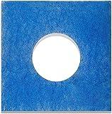10 Filter für Limodor Limot LF/ELF Badlüfter - 226 x 226 mm, Ø 95 mm, Filterklasse G4, 18mm - Alle F/C Limodor-Typ F-LF/5 00010 LIG Lüftungsanlage - Luftfilter und Staubfilter für Badentlüftung