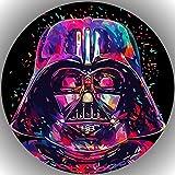 Fondant Tortenaufleger Tortenbild Geburtstag Star Wars AMA33
