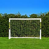 Net World Sports Forza 1,8m x 1,2m Fußballtor – Dieses Tor kann das ganze Jahr über bei jedem Wetter draußen gelassen Werden (Tor nur)