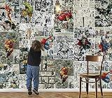 Tapete Fototapete Marvel Comics Wanddekoration Kinderzimmer Fototapete Tv Hintergrund Wanddekoration Malerei 350 * 245Cm