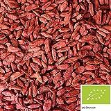 1kg getrocknete BIO Goji Beeren ohne Zusätze - BIO Gojibeeren als Snack oder als Zugabe für ein leckeres Müsli