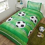 Rapport Bettbezug-Set für Einzelbetten, Polyester, grün