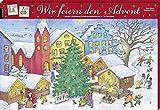 Wir feiern den Advent: Unsere schönsten Weihnachtsbräuche in 24 Büchlein (Adventskalender mit Geschichten für Kinder / Mit 24 Mini-Büchern)