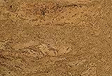 1 m² Korkfußboden zum kleben, Korkboden in grober-Optik, Klebekork vorversiegelt und vorgeleimt, Designkork zum kleben, Fußboden aus Kork zum kleben, Fußboden grobe Optik- Volans natur