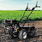 BRAST Benzin Motorhacke 5,15kW(7,0PS) mit 50cm Arbeitsbreite 212ccm TÜV geprüft Ackerfräse Gartenfräse Bodenfräse Kultivator