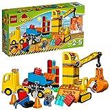 LEGO Duplo 10813 - Große Baustelle, Ideales Spielzeug fuer Kleinkinder, große Bausteine