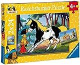 Ravensburger Kinderpuzzle 08869 - Yakari und 'kleiner Donner' - 2 x 24 Teile