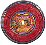 Pro Tennissaite Hexaspin Twist 1.25mm mit Spin 200m rot