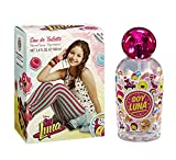 SOY LUNA Disney Soy Luna fruchtig-frisches Eau de Toilette 100ml (Duftnote: fruchtig, blumig, süß)  – Geschenk-Set für Mädchen