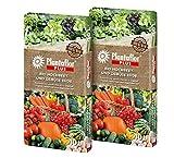 HaGaFe Plantaflor Plus Bio Hochbeeterde Gemüseerde Erde torfreduziert 80 Liter (2 x 40 L)