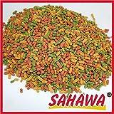 SAHAWA® 49134 Premium TeichSticks 3-Fach Mix, Goldfischfutter, Koifutter, Teichfutter, Teichsticks (35 l)