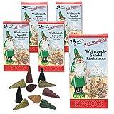 Knox 5 Päckchen Räucherkerzen - Weihrauch-Sandel