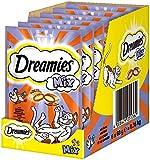 Dreamies Katzensnacks Katzenleckerli Mix mit Huhn & Ente, 6 Packungen (6 x 60g)