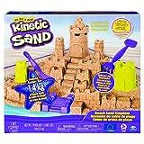 Kinetic Sand 6044143 Mega Beach Castle Set, Mehrfarbig