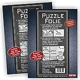 Play-Too 2er Set Puzzlefolie 20 Blatt Einfach! Schnell! Sauber! hält Superfest! Optimal für 2 x 1000 Teile oder 4 x 500 Teile Puzzle