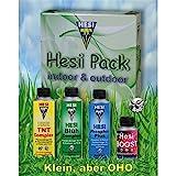 HESI indoor & outdoor Pack-inkl. PIPETTE-mini Starter Kit Starterbox Erde Dünger Set
