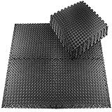 Schutzmatten Set 20 Stück 30x30cm Fitnessmatten Bodenschutzmatten für den Bodenschutz gegen Stöße, Dellen, Flüssigkeiten, Kälte zum Einsatz im Sportraum, Fitnessraum