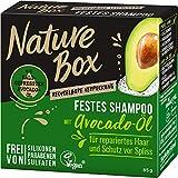 NATURE BOX Fest-Shampoo Avocado-Öl, 1er Pack (1 x 85 g)