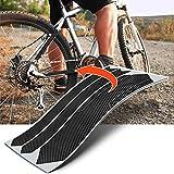 Luxshield Fahrrad Kettenstreben Lackschutzfolie Schutz Set - Carbon Optik & selbstklebend
