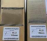 ALU Insektenschutzgitter Vogelschutzgitter 100mm x 10m