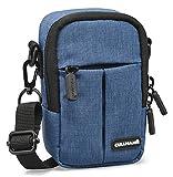 Cullmann Malaga Kompakt '400' Kameratasche für Kompaktkamera, 7 x 12 x 5 cm Blau