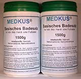 MEDKUS® - Basisches Badesalz 2 x 1500g = 3000g