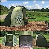 Quest Tackle Angelzelt 1-2 Schutz Man Mann Bivvy Karpfenzelt Karpfen Angeln Angehen Campingzelt Fishing Tent 5000mm Wassersäule