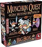 Pegasus Spiele 51953G - Munchkin Quest Big Box Brettspiel