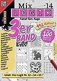 Mix-Logik 3er-Band Nr. 14 (Mix Logik 3er-Band / Logik-Rätsel): Mix-Logik Nr. 53+54+55