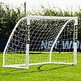 Net World Sports Forza Fußballtore – das Beste Tor bei jedem Wetter – 5 Größen (Match 1,5m x 1,2m)