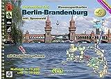 TourenAtlas Wasserwandern / TourenAtlas TA5 Berlin-Brandenburg: inkl. Spreewald: 1:75 000 / 1:25 000