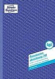AVERY Zweckform 741 Reisekostenabrechnung (A4, mit 1 Blatt Blaupapier, von Rechtsexperten geprüft, für Deutschland und Österreich zur monatlichen Abrechnung inkl. Kfz-Kostenaufstellung, 50 Blatt) weiß