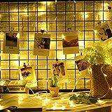 200er LED Lichterkette 8 Modi, Warmweiß, 4,8W, Dimmbar,LED Licht mit Fernbedienung & Timer Dekoration für Terrasse, Garten, Schlafzimmer, Weihnachtsfest, Hochzeit