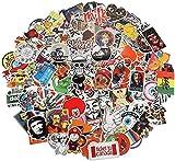 Aufkleber Pack 200 Stück, Xpassion Wasserdicht Vinyl Stickers Graffitti Decals Stickerbomb für Auto Mottoräde Fahrrad Skateboard Gepäck Laptop Computer
